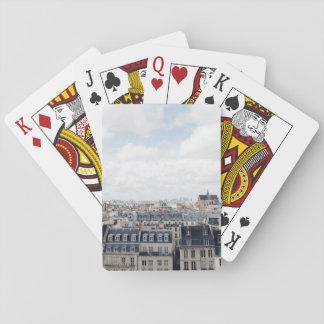 Baraja De Cartas Paisaje urbano de París Francia