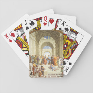 Baraja De Cartas Raphael - La escuela de Atenas 1511