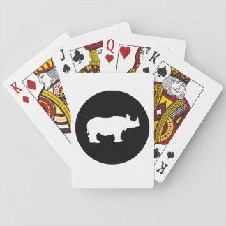 Baraja De Cartas Rinoceronte