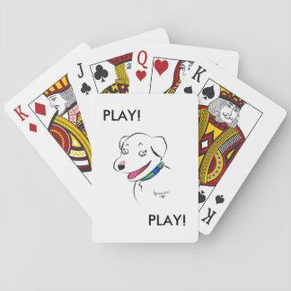 Baraja De Cartas Ropa del desgaste del dragón - JUEGO - tarjetas