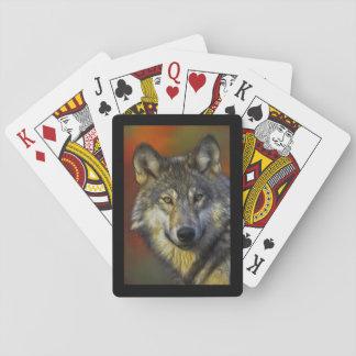 Baraja De Cartas Sabiduría del lobo