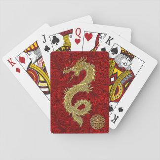 Baraja De Cartas Símbolo chino del dragón