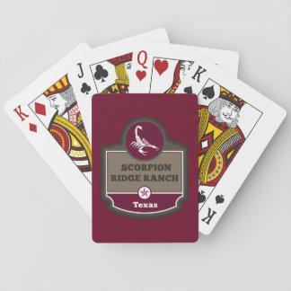 Baraja De Cartas tarjetas de encargo
