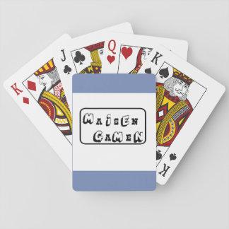 Baraja De Cartas Tarjetas de la magia de Maisen Gamen