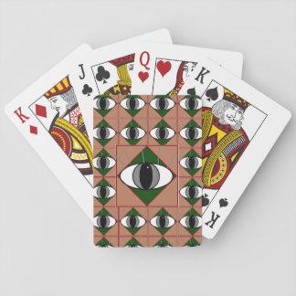 Baraja De Cartas Tarjetas de ojo mágico místicas