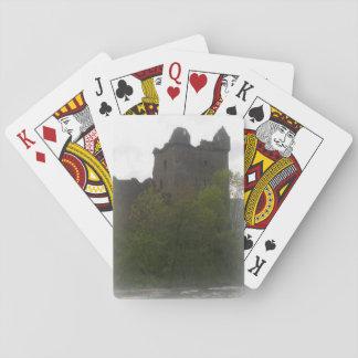 Baraja De Cartas Tarjetas del castillo