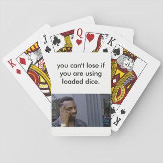 Baraja De Cartas tarjetas del meme