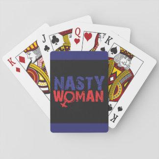 Baraja De Cartas Tarjetas DESAGRADABLES de la mujer