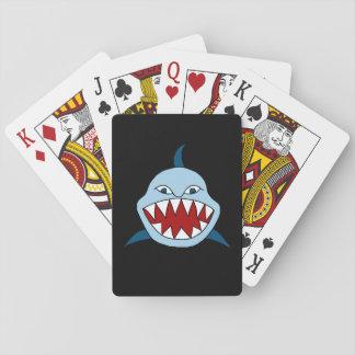 Baraja De Cartas Tiburón enojado