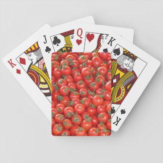 Baraja De Cartas Tomates rojos de la vid
