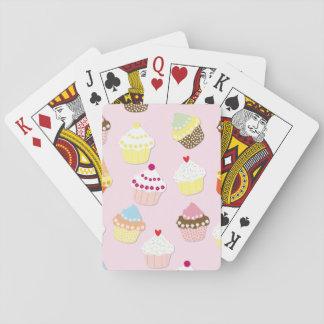 Baraja De Cartas Tortas de la taza de las tarjetas del día de San