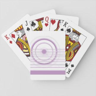 Baraja De Cartas violeta