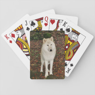 Baraja De Cartas White Wolf