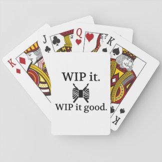 Baraja De Cartas WIP él bueno - ganchillo