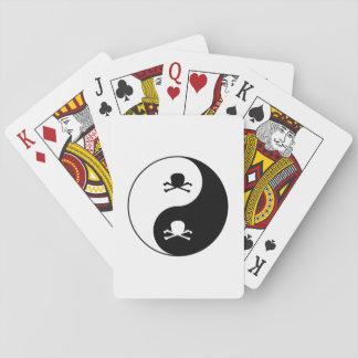 Baraja De Cartas Yin y cráneos de yang