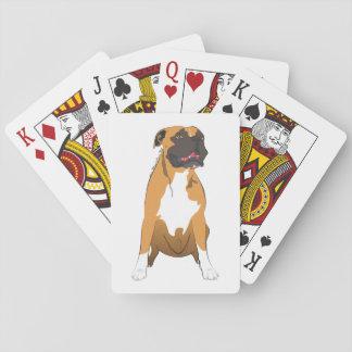 Baraja de Póker de boxer perro