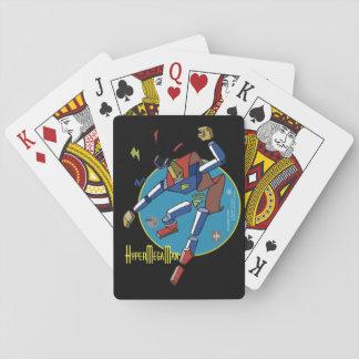 Baraja- HyperMegaMan Dibujante Baraja De Póquer