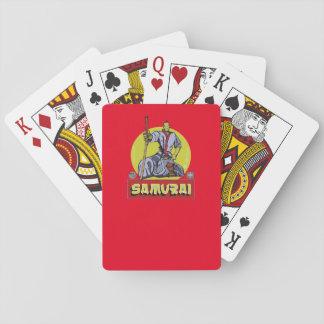 Baraja- Samurai Dibujante Baraja De Póquer
