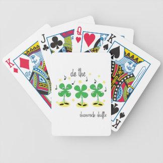 Barajadura del trébol baraja de cartas