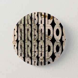barbados1758 chapa redonda de 5 cm