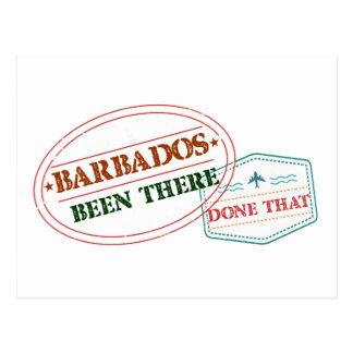 Barbados allí hecho eso postal