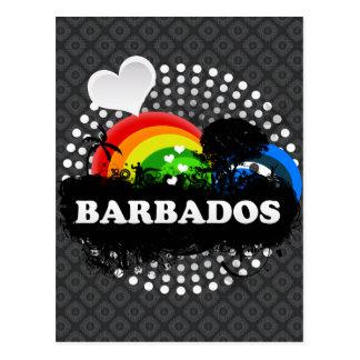 Barbados con sabor a fruta lindas postal