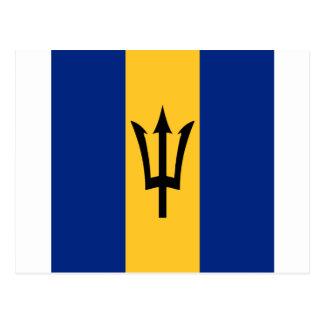Barbados por todo diseño postal