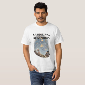 Bárbaros de la camiseta de Lemuria