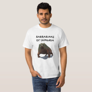 Bárbaros de la camiseta de Lemuria Deodarg