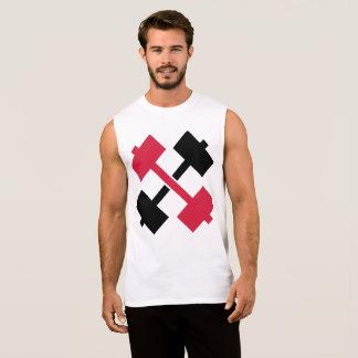 Barbells cruzados camiseta sin mangas