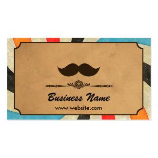 Barbería del remolino del vintage tarjetas de visita