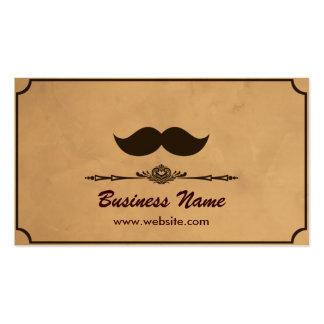 Barbería del vintage tarjetas de visita