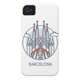 Barcelona Carcasa Para iPhone 4 De Case-Mate