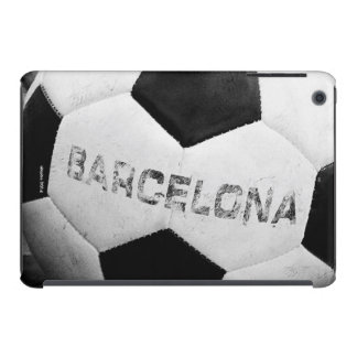 Barcelona's soccer ball funda para iPad mini