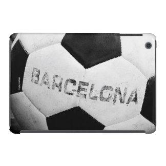 Barcelona's soccer ball fundas de iPad mini