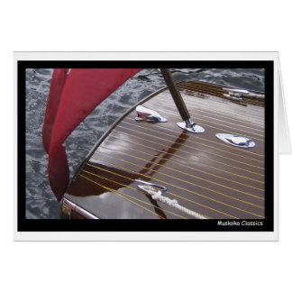 Barco antiguo PhotoCard Tarjeta