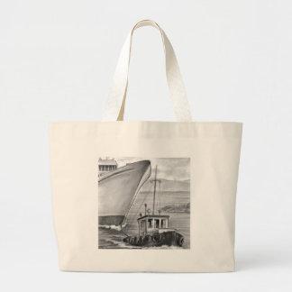 Barco de cruceros del remolque del barco del tirón bolsa