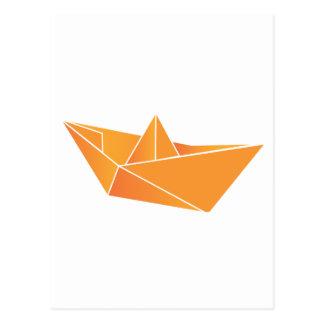 Barco de Origami Postal