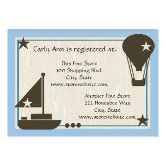 Barco de vela de la tarjeta del registro de la fie plantillas de tarjetas de visita