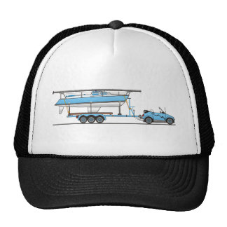 Barco de vela del coche de Eco Gorro De Camionero