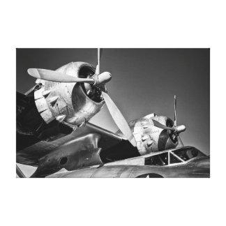 Barco de vuelo - partes radiales lona envuelta para galerias