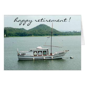 barco del retiro felicitación