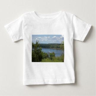 Barco del río Misisipi Camiseta De Bebé
