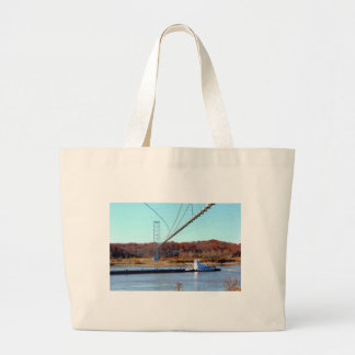 Barco del tirón bolsa