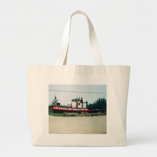 Barco del tirón bolsa lienzo