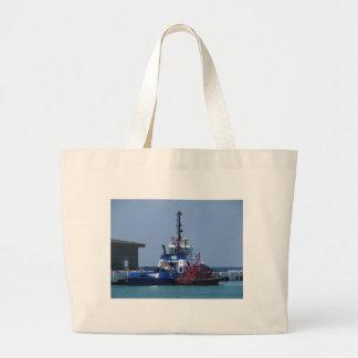 Barco del tirón y barco experimental bolsas de mano