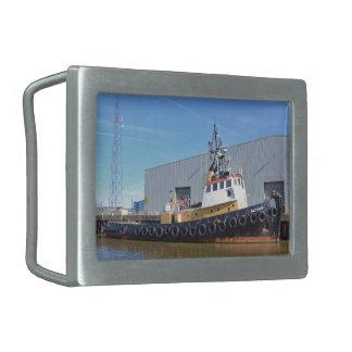 barco Gluvias del tirón de los años 50 Hebillas De Cinturon Rectangulares