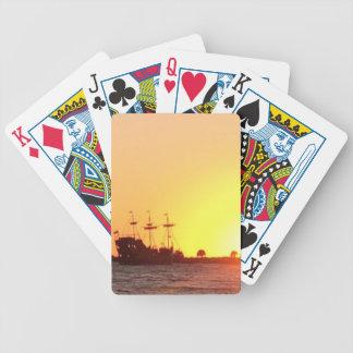 Barco pirata baraja de cartas bicycle
