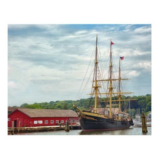 Barco - placer de los marineros tarjeton