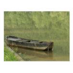 barco silencioso postal